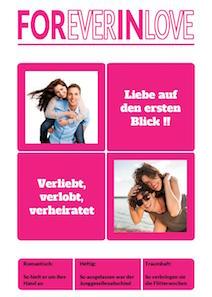 verfgbar als im onlinedesginer - Hochzeitszeitung Beispiele Pdf